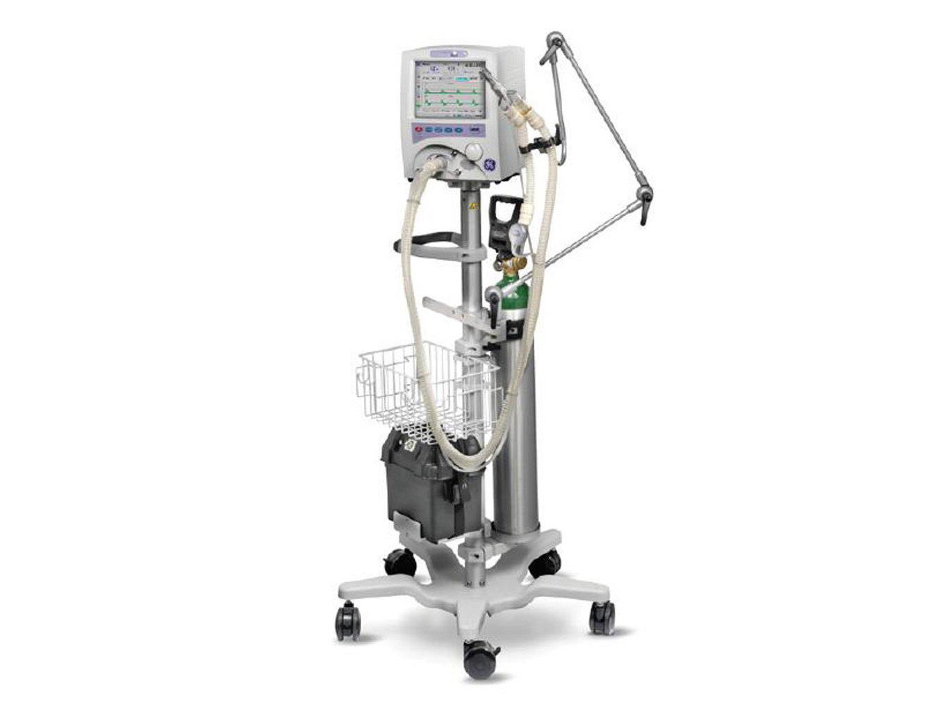ICU Ventilator GE Versamed Ivent 201
