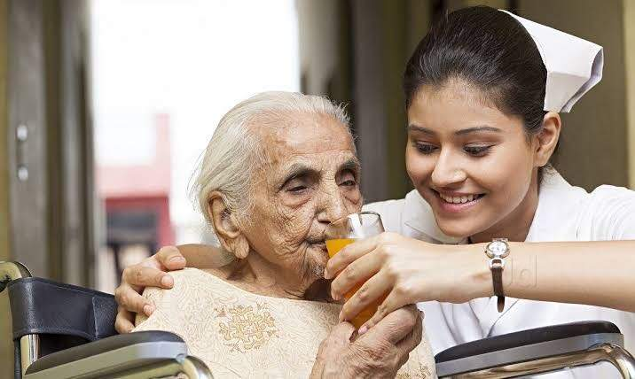 nursing care at home service, sr citizen care at home